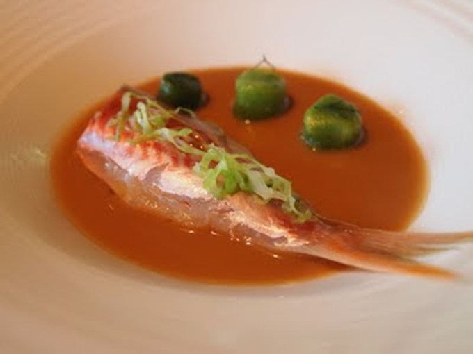 Salmone of Roca without  spine by Celler de Can Roca