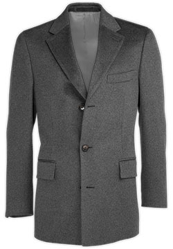 Light Gray Cashmere Coat