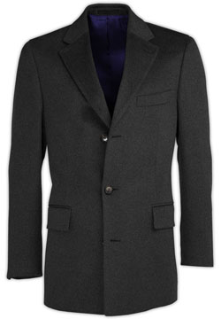 Gray Cashmere Coat