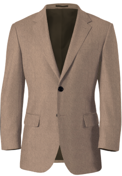 Light Brown Tweed Blazer