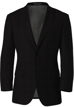 Black Tweed Birdseye Blazer