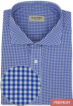Blue Vichy Check Shirt