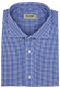 Blue Vichy Check Shirt - Front view