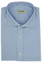 Blue Shirt French Oxford - Front view