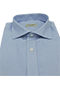 Blue Shirt French Oxford - Isometric view