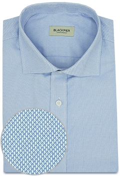 Blue Shirt French Oxford