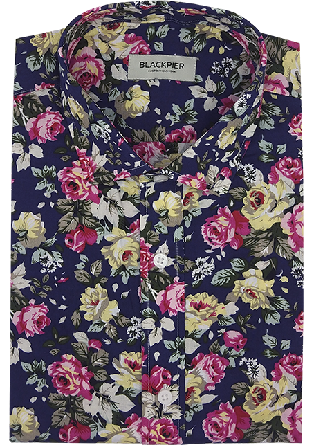 Floral Patterned Shirt - Front view