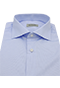 Fine Blue Stripe Shirt - Isometric view