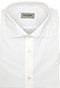 Diagonal Stripe White Shirt - Front view