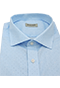 Light Blue Turquoise Shirt - Isometric view