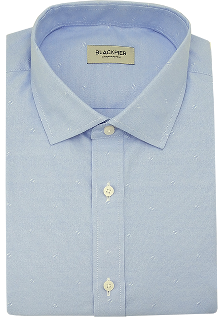 Blue Shirt - Front view