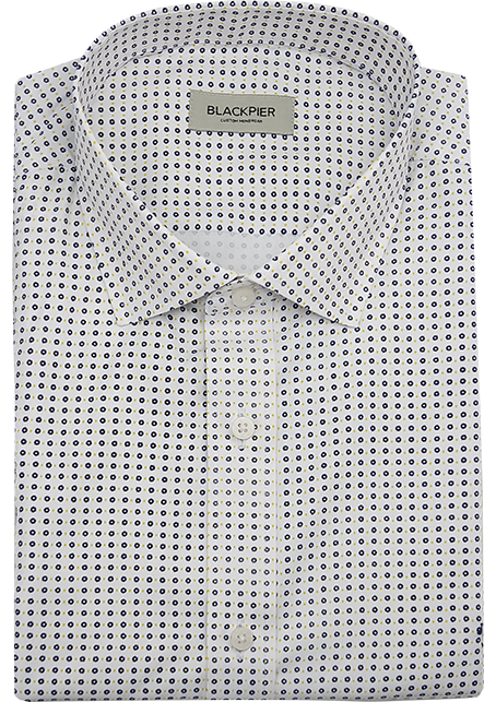 Printed White Shirt - Front view