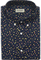 Navy Floral Shirt Tolopea - Front view