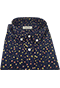 Navy Floral Shirt Tolopea - Isometric view