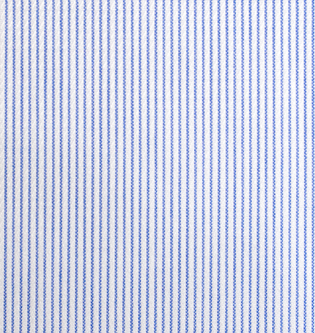 Thousand blue stripes shirt - Isometric view