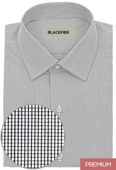 Small black squares shirt