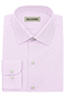 Twill pink shirt - Front view