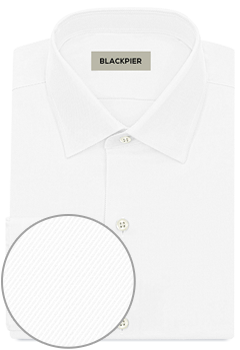 Twill white shirt premium