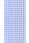 Light blue plaid shirt - Isometric view