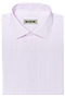 Light pink striped shirt - Front view