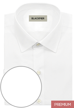 Premium plain white shirt