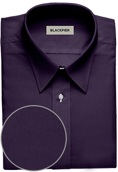 Plain Dark Purple Shirt