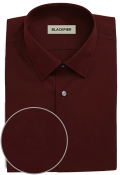 Plain Dark Red Shirt Premium