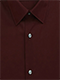 Plain Dark Red Shirt - Isometric view