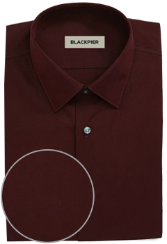 Plain Dark Red Shirt