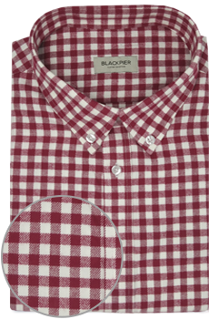 Red Vichy Check Shirt