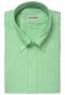 Green oxford shirt - Front view