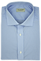 Solid Light Blue Shirt - Front view