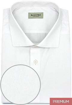 Hatched White Shirt
