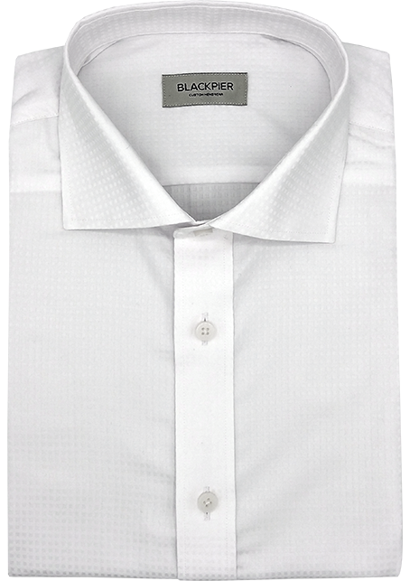 Raster Shirt White - Front view