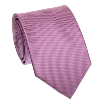 Purple honeycomb textured tie