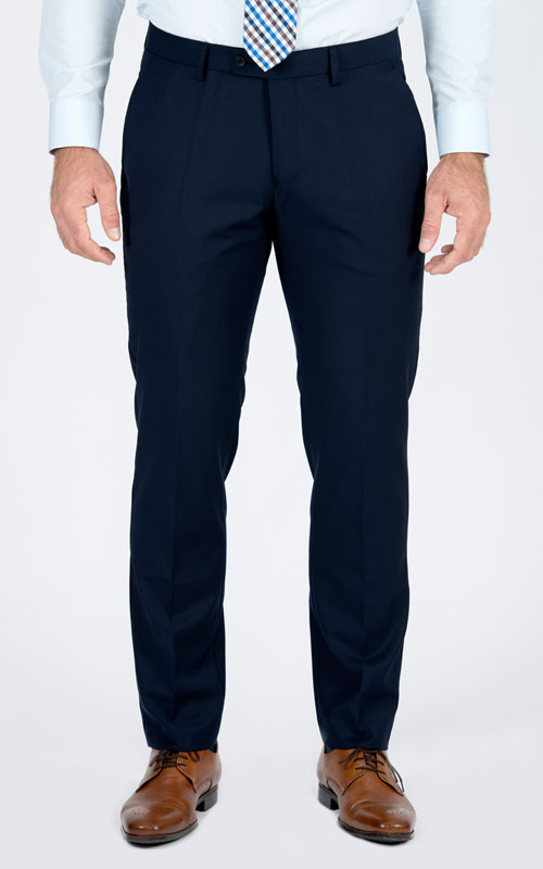 Pantaloni Blue Di Base