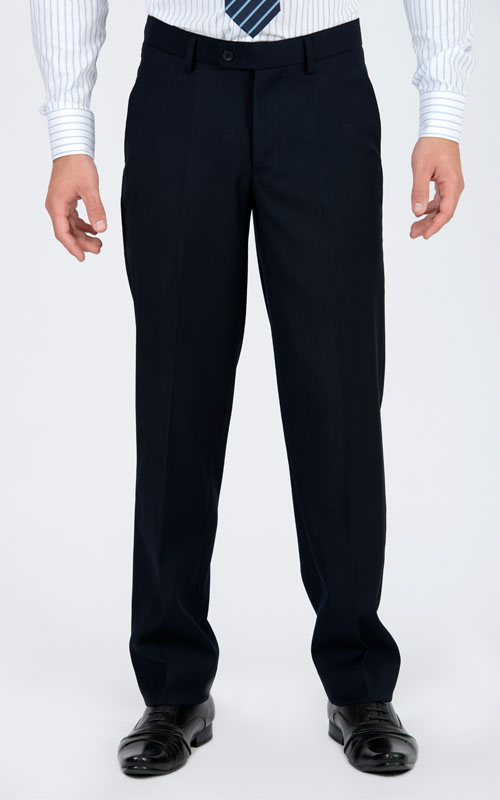 Basic Navy Pants - Front pants