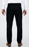 Black Prince Of Wales Pants - Back pants