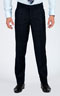 Navy Prince Of Wales Pants - Front pants