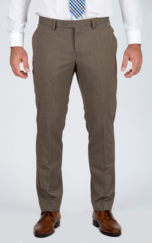 Pantaloni Marrone Di Base