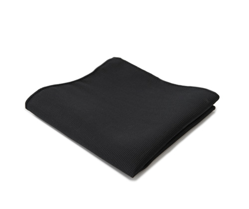 Black pocket handkerchief