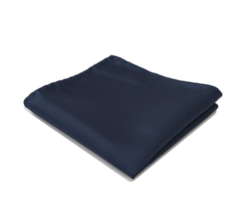 Dark blue pocket handkerchief