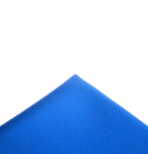Electric blue pocket handkerchief