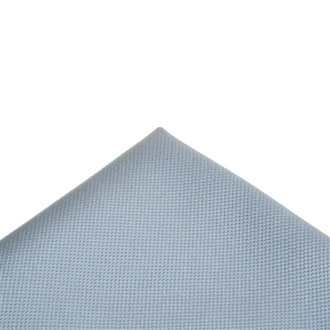 Italian fabric gray pocket handkerchief