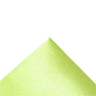 Silk lime green pocket handkerchief