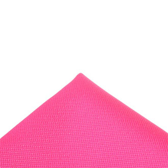 Italian fabric fuchsia pocket handkerchief
