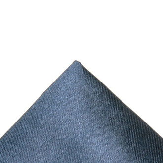 Silk charcoal pocket handkerchief