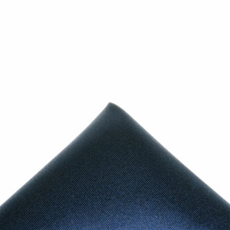 Silk navy blue pocket handkerchief