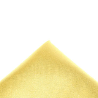 Silk gold pocket handkerchief