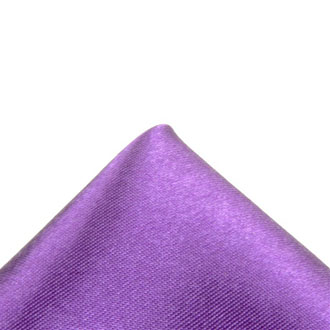 Silk purple pocket handkerchief